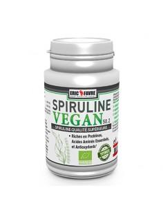 Spiruline Vegan Eric favre est un super aliment pour faire le plein de vitamines et minéraux