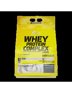whey protein complex 100% est un mélange d'isolat de de whey et de whey concentrée pour obtenir un muscle de qualité