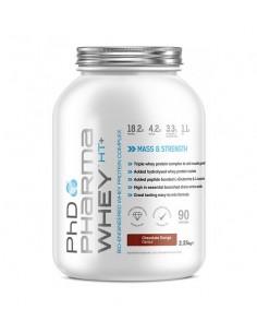 Pharma Whey HT+ est une protéine de la marque phd nutrition pour optimiser la prise de masse musculaire