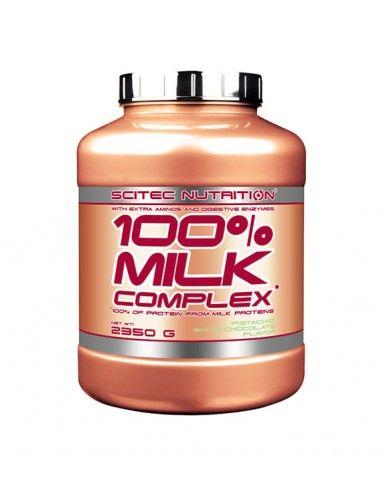 100 Milk Complex est une protéine de contenant de la whey concentrée et de l'isolat pour le maintien ou l'augmentation de votre