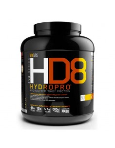 HD8 Hydropro complément alimentaire de la marque starlabs nutrtion et labelisée Optipep , elle contient des di-peptides et des