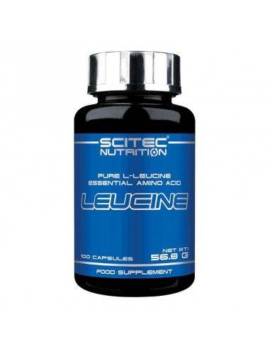 Acide aminé essentiel déclencheur de la synthèse protéine et activateur de la voie mtor de la marque scitec nutrition