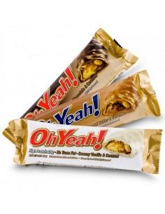 Barre Oh Yeah est une barre protéinée avec plus de 27g de protéines sans gluten