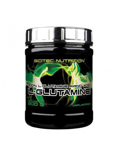 glutamine scitec musculation au gout neutre pour améliorer la récupération des muscles