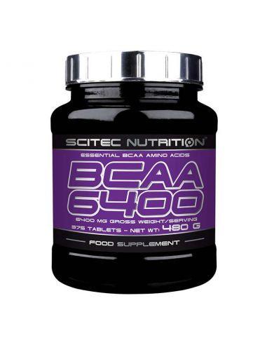 Scitec BCAA 6400 améliore l'énergie, le maintien et la croissance musculaire