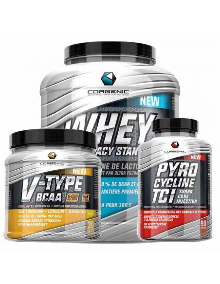 Pack corgenic pour un muscle de qualité