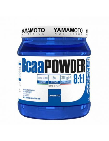 bcaa pas cher de la marque yamamoto nutrition, il possède une dose élevée de leucine pour améliorer la synthèse des protéines