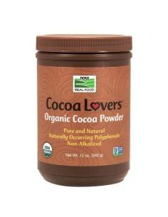 poudre cacao protéinée now foods