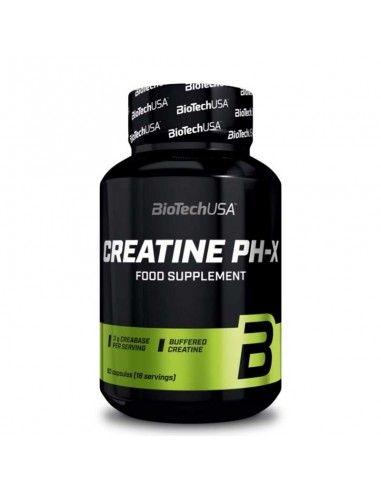 Créatine monohydrate tamponnée biotech usa créatine ph-x