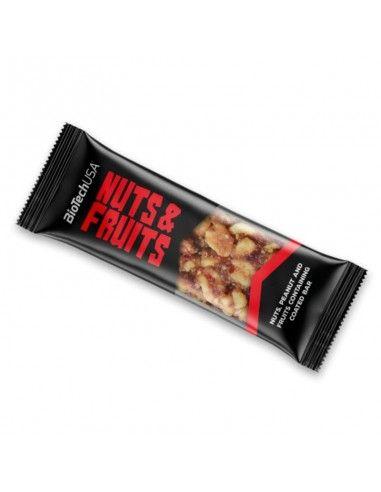 barre glucidique nuts et fruits