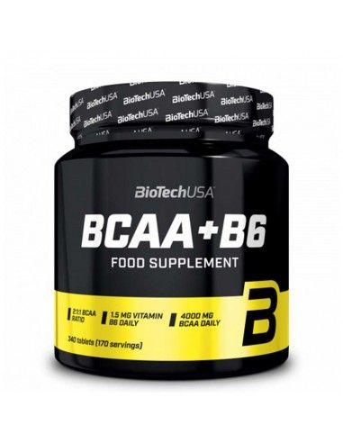bcaa 2.1.1 et vitamine B6 pour favoriser la prise de muscle et la récupération