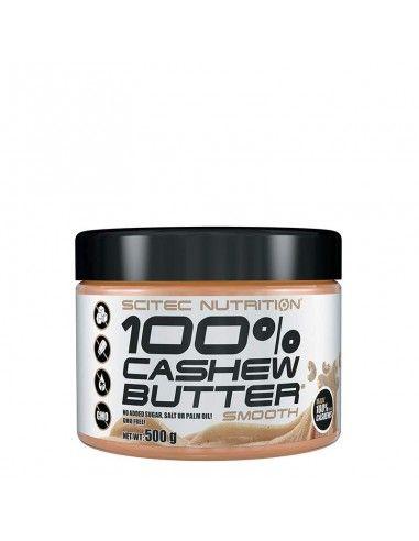 beurre de cajou scitec pour apporter des bonnes graisses à votre corps