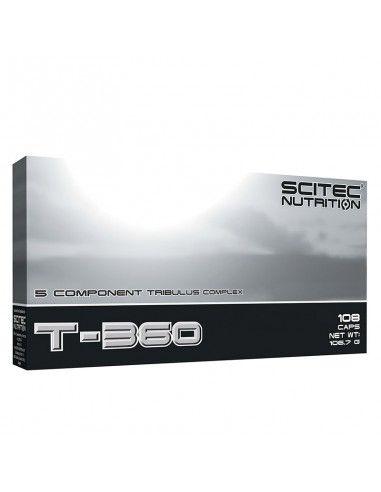 T-360 Scitec nutrition est un booster naturel de testostérone pour augmenter votre force et booster votre sexualité