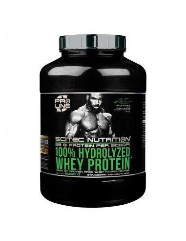 100% hydrolyzed whey scitec nutrition