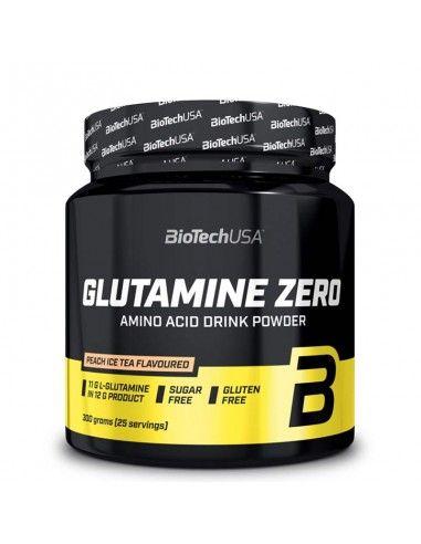 glutamine biotech sans sucre avec un très bon gout indispensable pour les sportifs