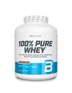 100% pure whey biotech usa est une protéine de lactosérum à 78% de protéines pour augmenter votre masse musculaire