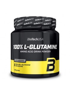 biotech usa L-glutamine musculation
