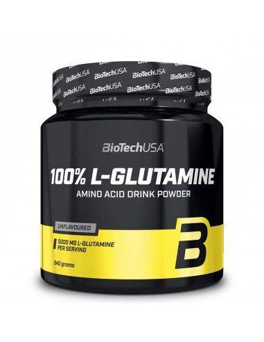 biotech usa L-glutamine musculation