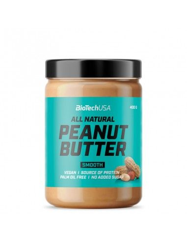 peanut butter smooth biotech usa