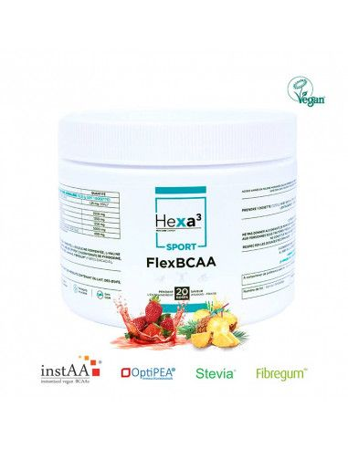 flex bcaa + pea hexa3