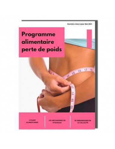 programme alimentaire perte de poids