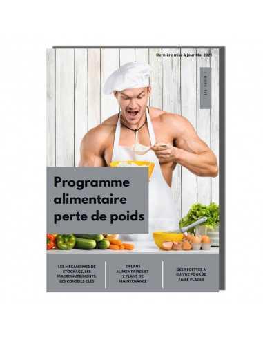 Programme alimentaire pour homme sur la perte de poids.