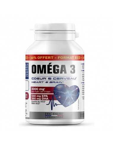 les oméga 3 eric favre vous apporte des acides gras essentiels pour votre système cardiovasculaire et votre santé
