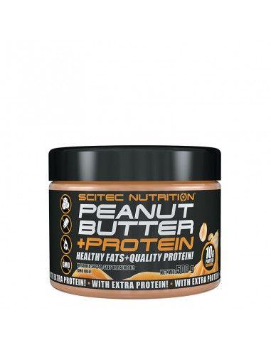 beurre de cacahuètes protéinées scitec pour apporter des bonnes graisses à votre corps