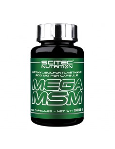 Mega MSM scitec nutrition soulage vos articulations