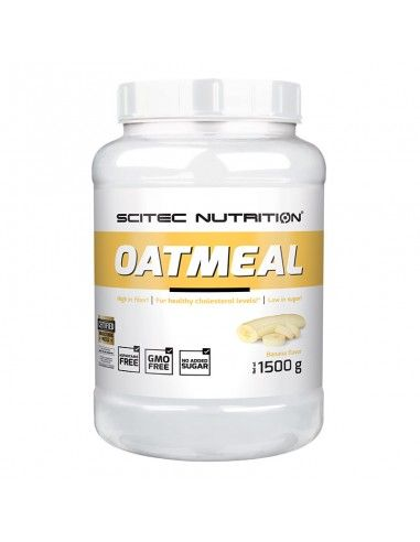 oat meal est une poudre d'avoine aromatisée pour faire des pancakes