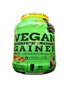 le premier gainer vegan français avec une composition à base de patate douce , de sucre de canne.