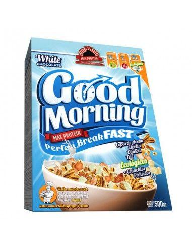 good morning de max protein pour le petit déjeuner su sportif