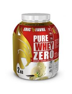 Pure Whey Zero eric favre est une protéine concentrée à 78% de protéines dans le but de construire un muscle de qualité