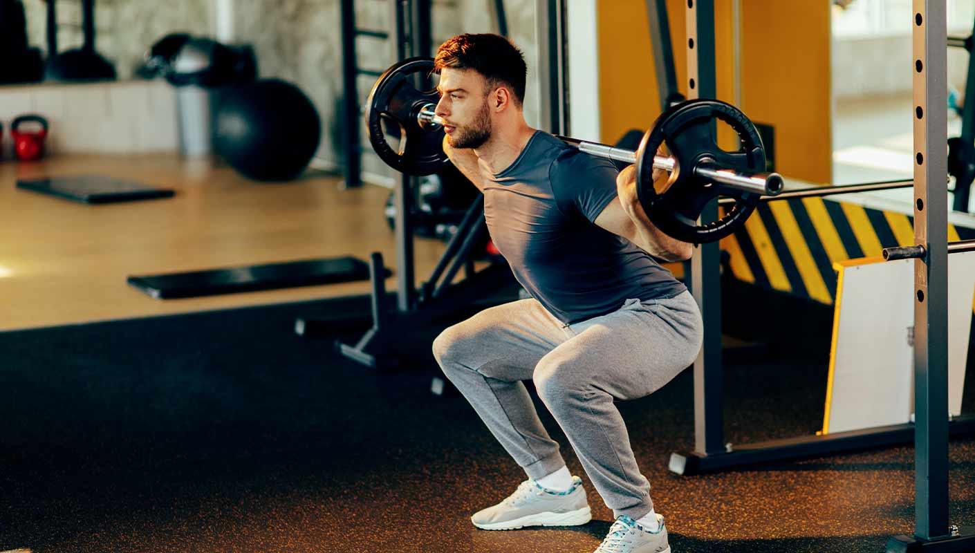 exercice de squat pour les jambes