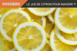 Le jus de citron pour maigrir : Mythe ou réalité ?!