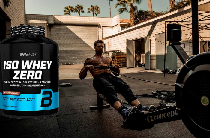 Iso whey Zero : La protéine isolate native de Biotech USA